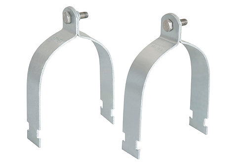 RHINO RACK PIPE CLAMPS H/DUTY (100MM/4INCHES)