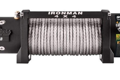 IRONMAN WINCH 9500LB SYNTHETIC