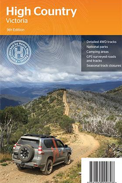 HEMA HIGH COUNTRY VICTORIA MAP