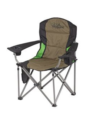 IRONMAN DELUXE SOFT ARM CHAIR 150KG CAPACITY