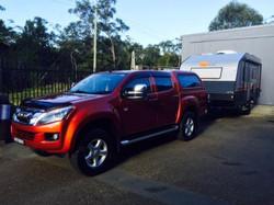 dmax and nova caravan