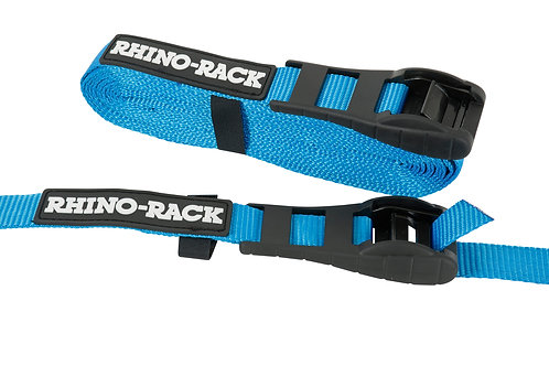 RHINO RACK 5.5M RAPID STRAPS W/BUCKLE PROTECTOR