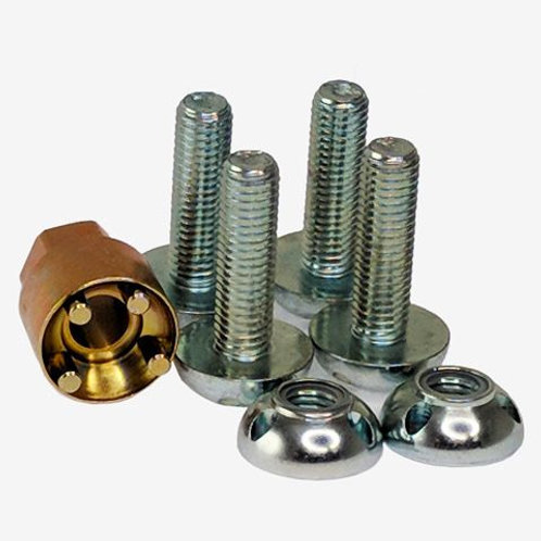 LIGHFORCE ANTI THEFT SECURITY NUTS