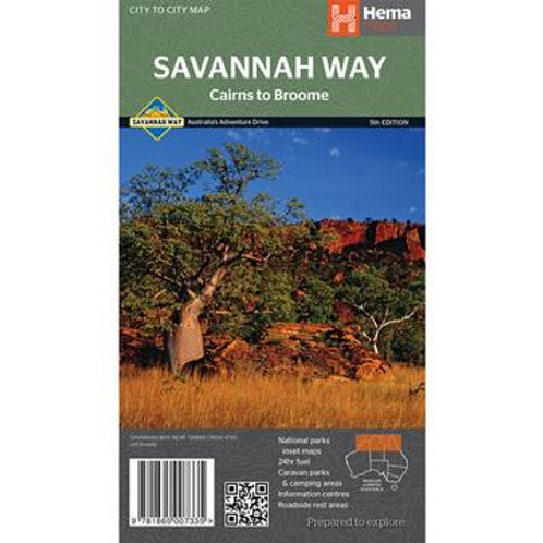 HEMA SAVANNAH WAY - CAIRNS TO BROOME