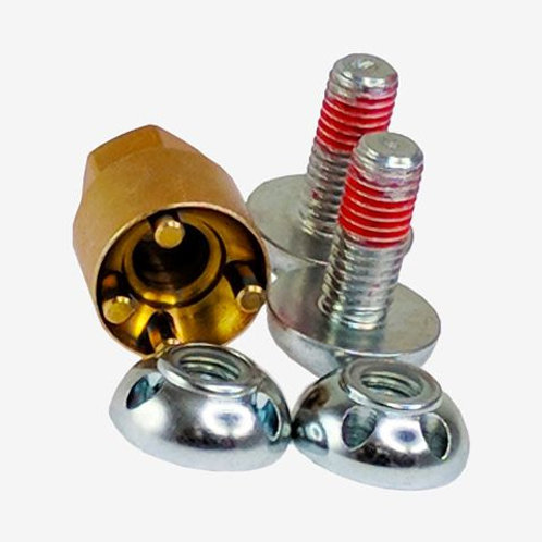 LIGHTFORCE ANTI THEFT SECURITY NUTS FOR HTX