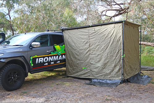 IRONMAN AWNING ROOM WITH NET 2.5M X 2M