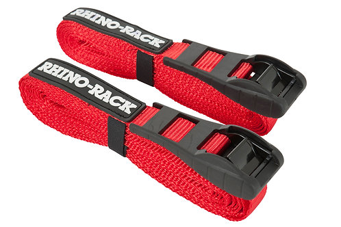 RHINO RACK 4.5M RAPID STRAPS W/BUCKLE PROTECTOR