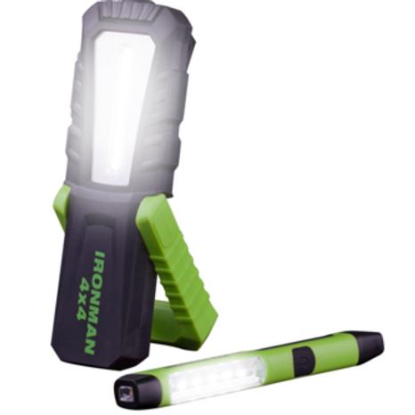 IRONMAN LED WORK LIGHT COMBO (SET OF 2 WORK LIGHTS)