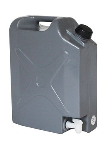 IRONMAN 20L PLASTIC JERRY CAN WITH TAP