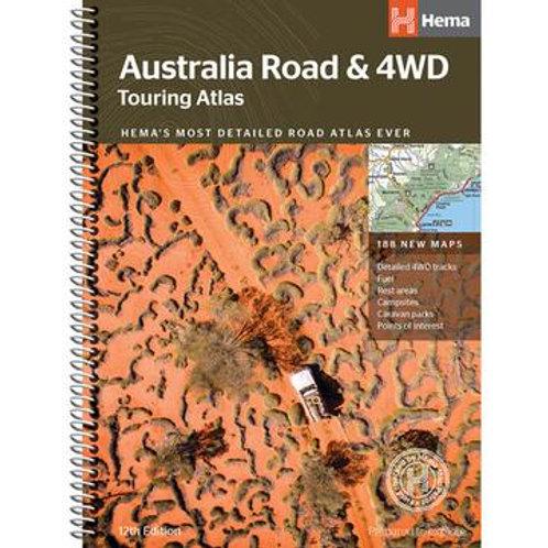 HEMA AUSTRALIA ROAD & 4WD TOURING ATLAS