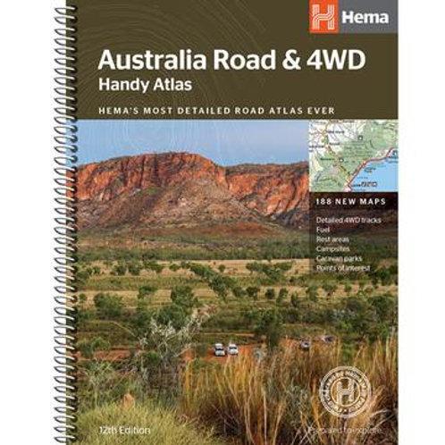 HEMA AUSTRALIA ROAD & 4WD HANDY