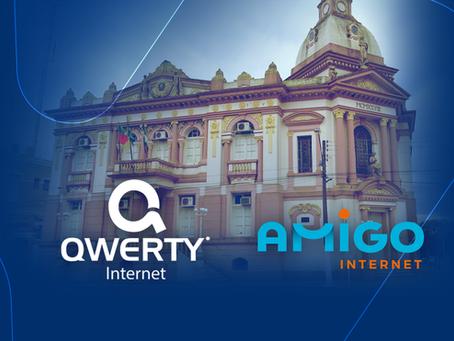 4x mais internet: Unificação da Qwerty com Amigo permite isso
