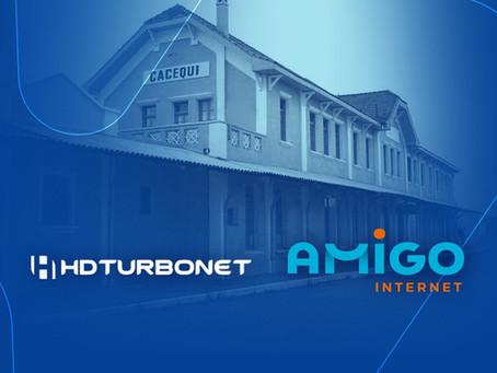 HDTurboNet e Amigo unem forças e trazem novidades a Cacequi