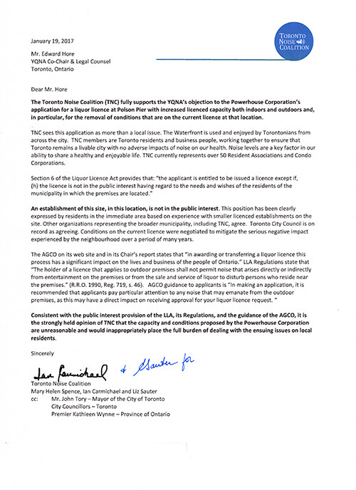 Letter of Objection to Polson Peir Expansion