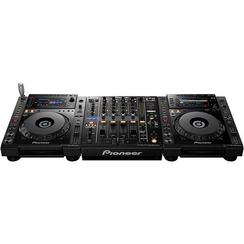2x CDJ-900 NXS + DJM-850-K