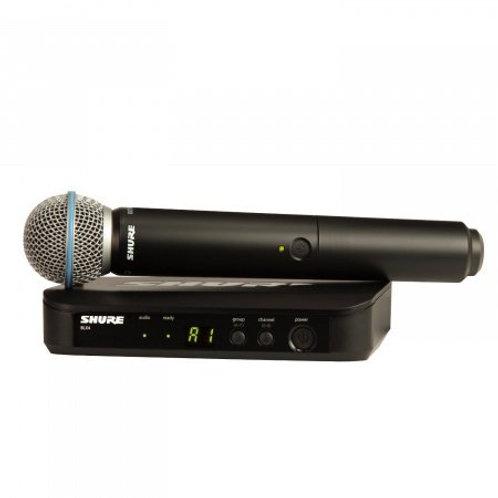 Shure BLX24E/B58-K14 (614-638 MHz) handheld draadloos