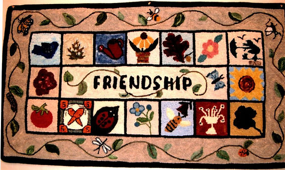 Friendship Rugs -  2004 - Lonny Krogman.