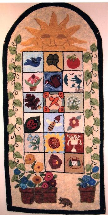 Friendship Rugs -  2004 - Hazel Rooker.j