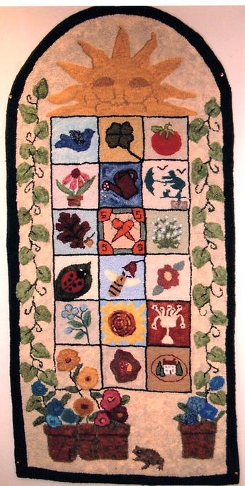 Friendship Rugs -  2004 - Hazel Rooker.j