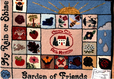 Friendship Rugs -  2004 - Nancy Harland.
