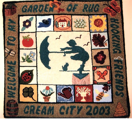 Friendship Rugs -  2004 - Joyce Krueger.