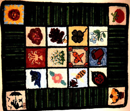 Friendship Rugs -  2004 - Suzanne Ziegle