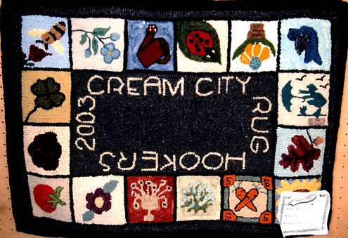 Friendship Rugs -  2004 - Sally Kraimer.