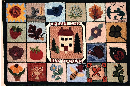 Friendship Rugs -  2004 - Liz Williams.j