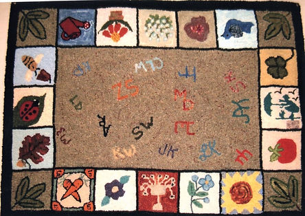 Friendship Rugs -  2004 - Martha Crawfor