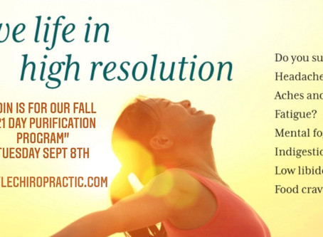Fall Renewal and Cleanse