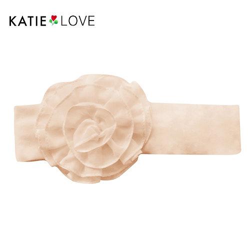 handmade silk cotton headband