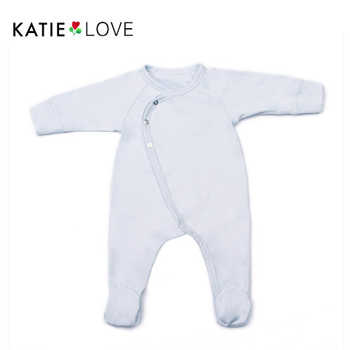 Milk Jersey Baby Coverall