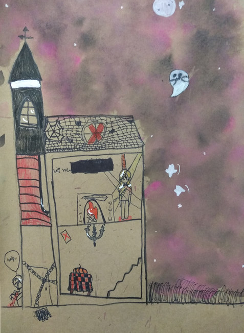 Haunted house by Ruby