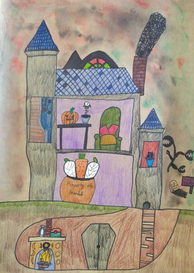 Haunted house by James