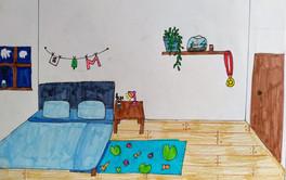 Surrealist room by Milla