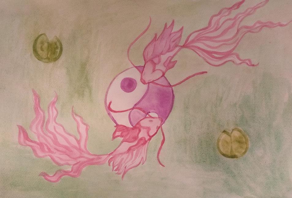 Watercolour by Harmina
