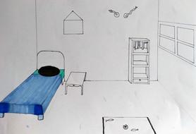 Surrealist room by Natasha