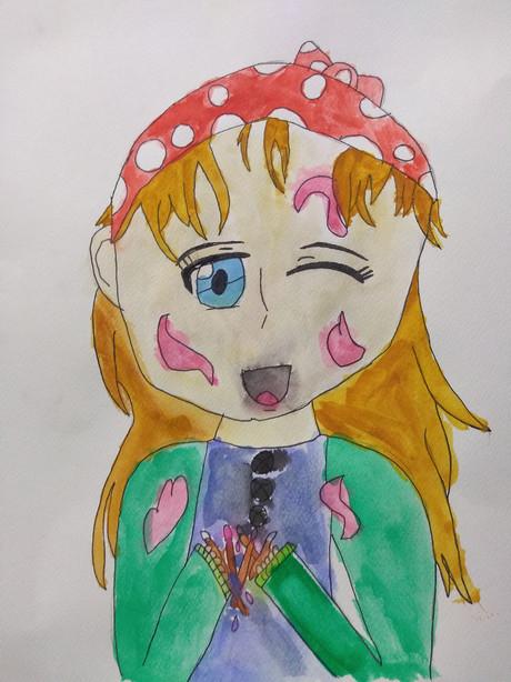 Manga Portrait by Michaela