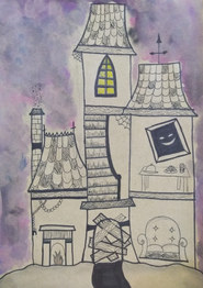 Haunted house by Ava