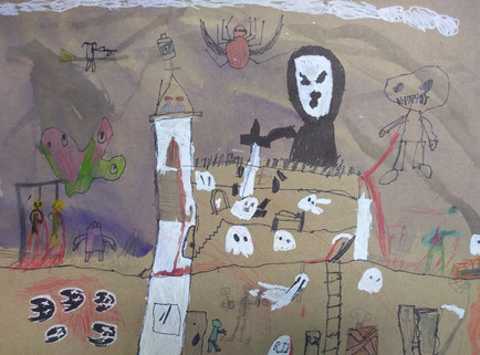 Haunted house by Epeli