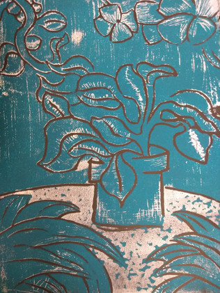 Relief printing by Kyus