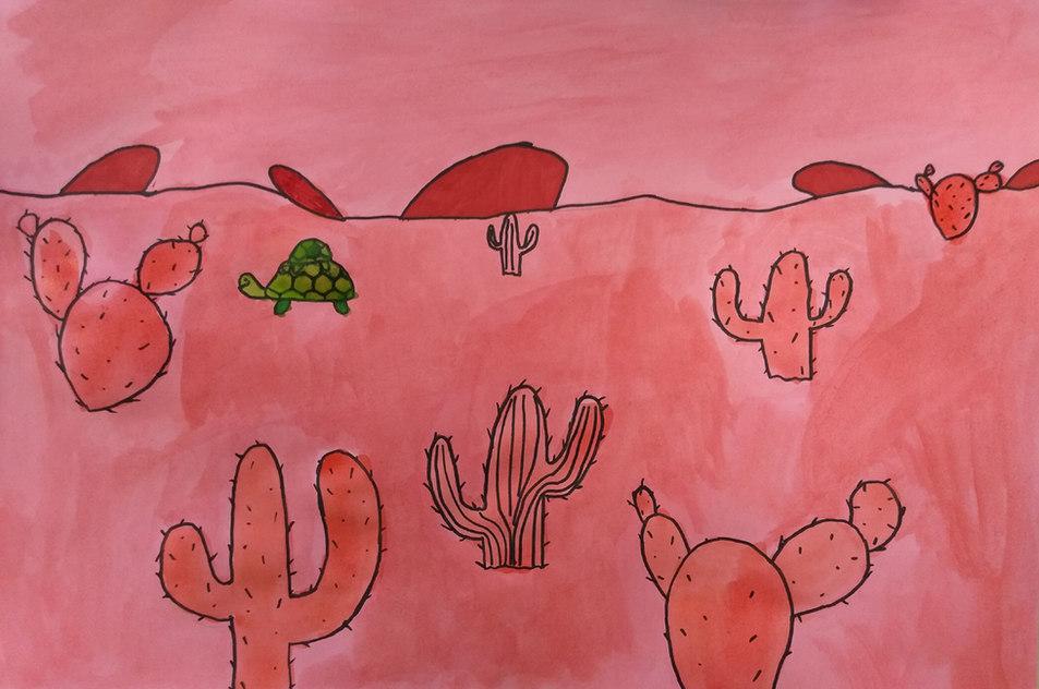 Watercolour by Antonia