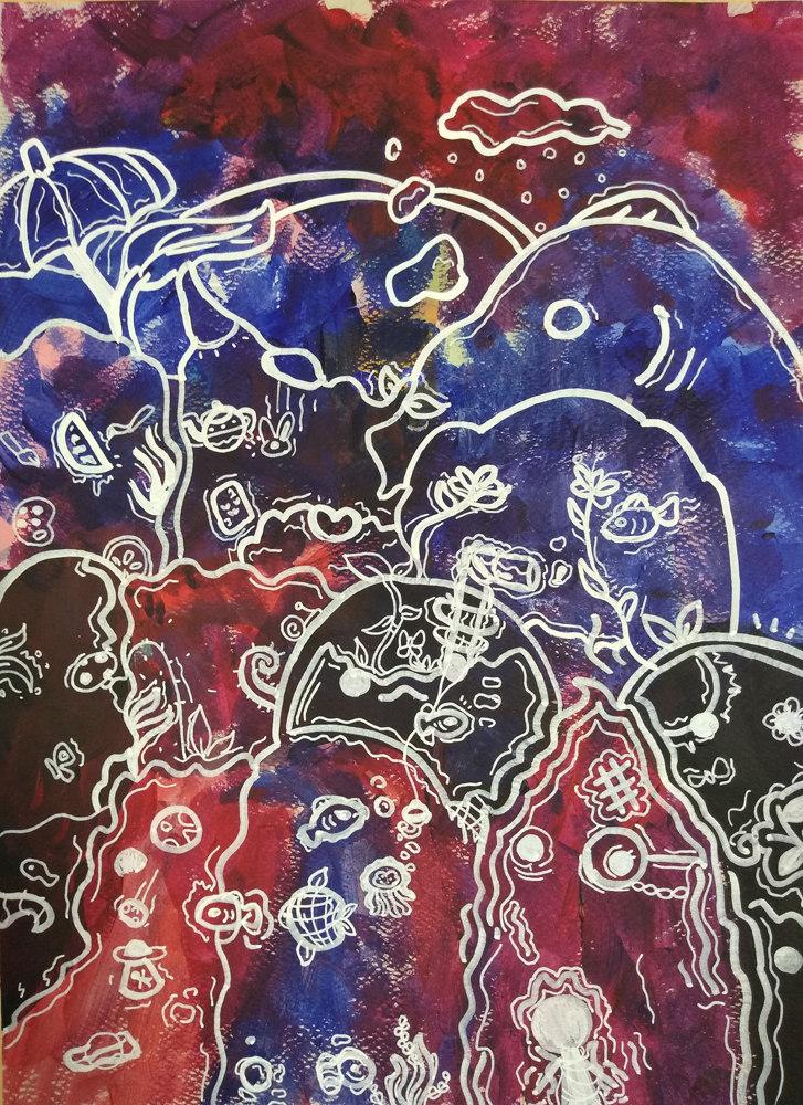 Painting by Nikki