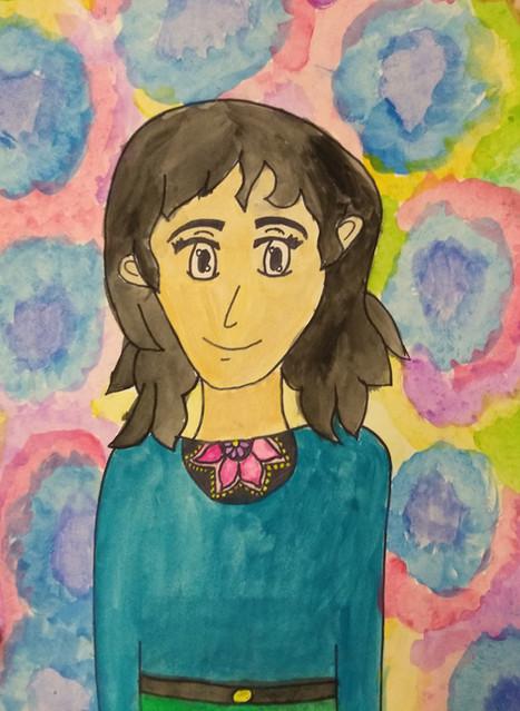 Manga Portrait by Radhika