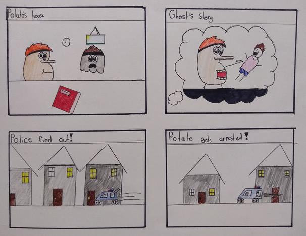 Comic Strip by Charlotte