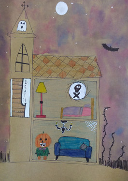 Haunted house by Milla