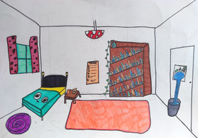 Surrealist room by Zoe