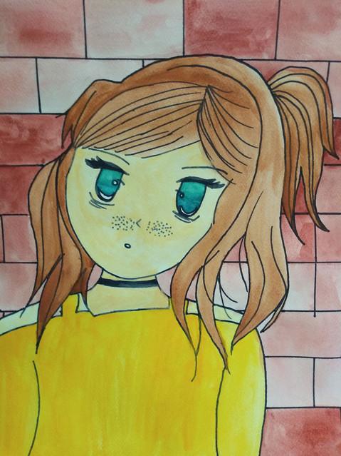 Manga Portrait by Harmina