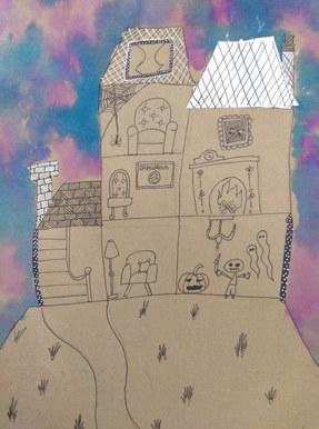 Haunted house by Radhika