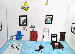 Surrealist room by Emily